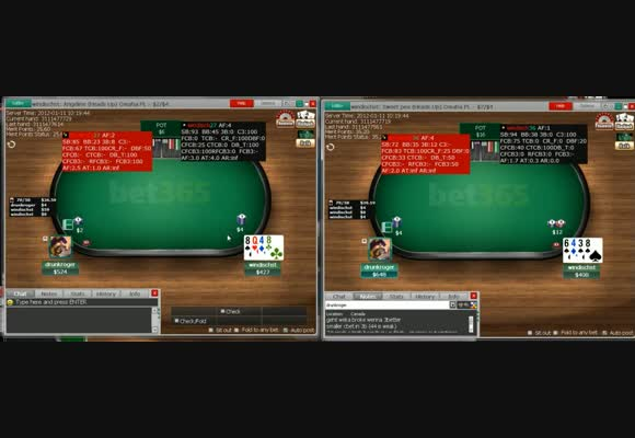 Welcoming Mutardet: Advanced Heads-up Omaha - Part 1