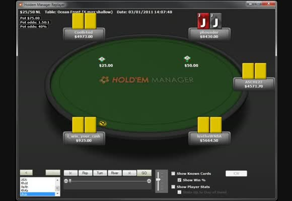 Highstakes with any2just4u and phounder