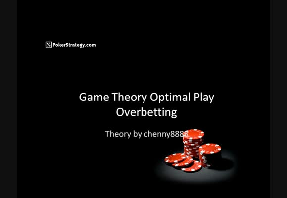 Game Theory Optimal - Part 2