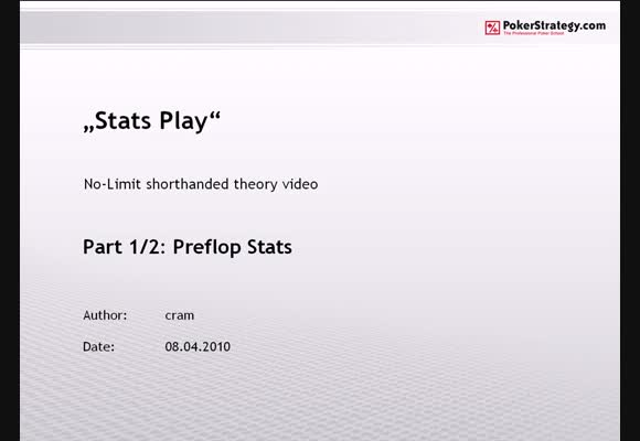 Stats Play - Part 1