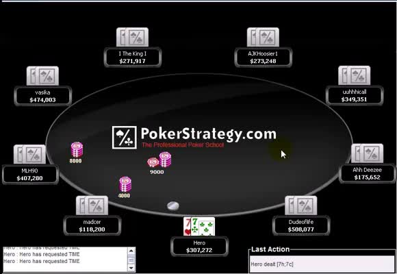 Playing the Final Table - Part 4