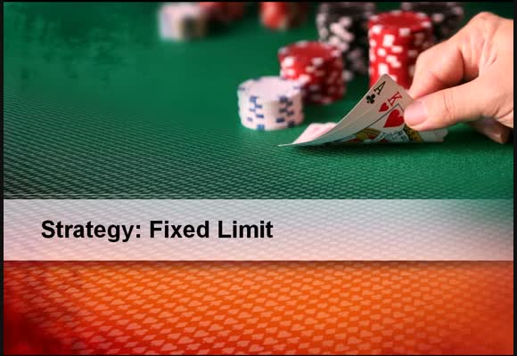 Fixed Limit - Playing before the flop