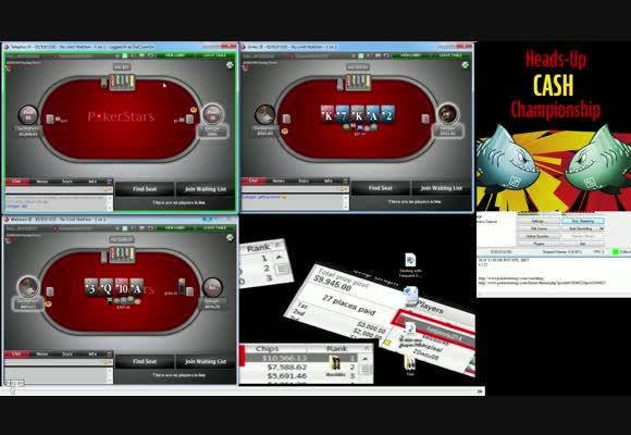 HU Cash Championship Pre-round - Deliveranced Vs ZackBigPack