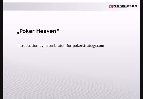Introducing Poker Heaven