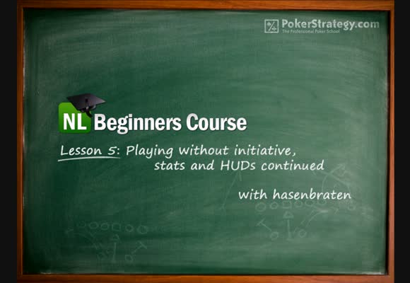 NL Beginners Course - Lesson 5: No initiative, stats, HUDs