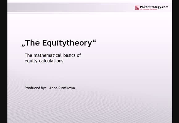 The Equity Theory - Part 1