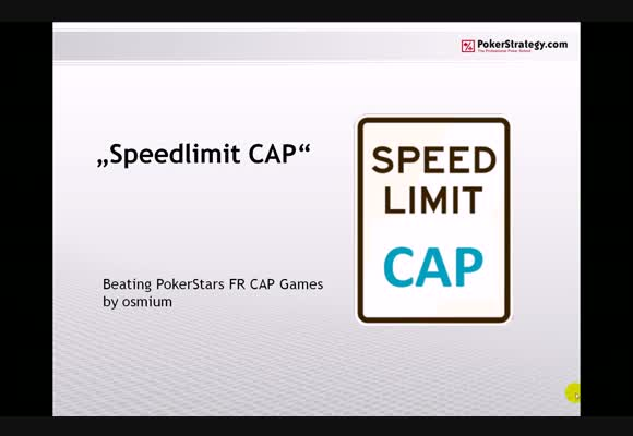 Speed Limit: CAP - Part 2