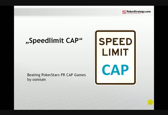Speed Limit: CAP - Part 3