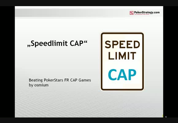 Speed Limit: CAP - Part 4