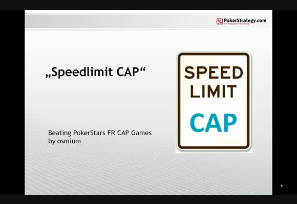 Speed Limit: CAP - Part 1