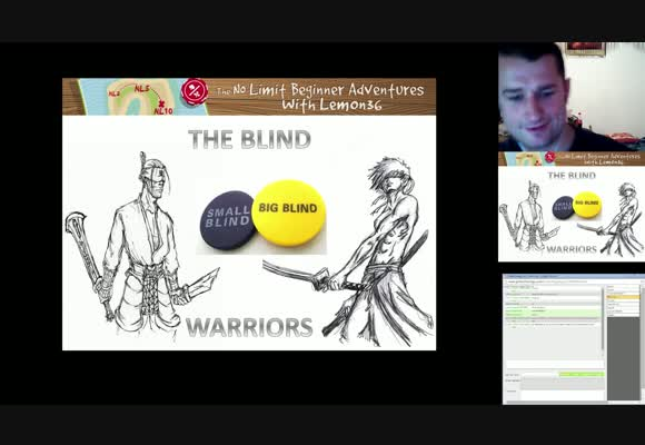 No Limit Beginner Adventures: The Blind Warriors