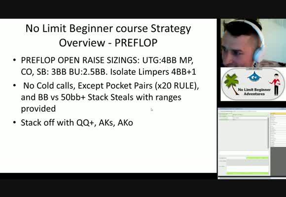 No Limit Beginner Adventures : Introduction