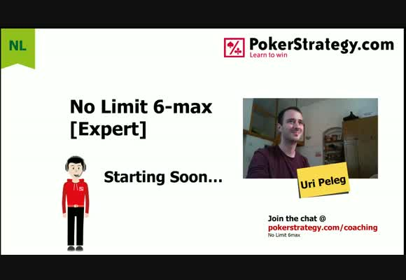 Uri Peleg 4-Tables 50NL Zoom on PokerStars