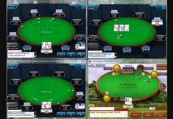 SnG $55 - $225 FR Live Video