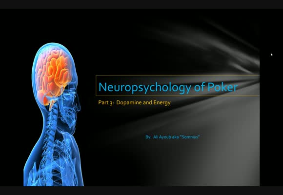 Neuropsychology of Poker - Part 3