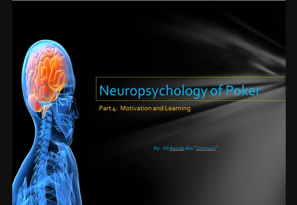 Neuropsychology of Poker - Part 4
