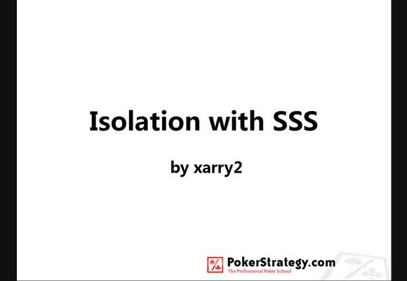 Isolation with SSS - Part 1