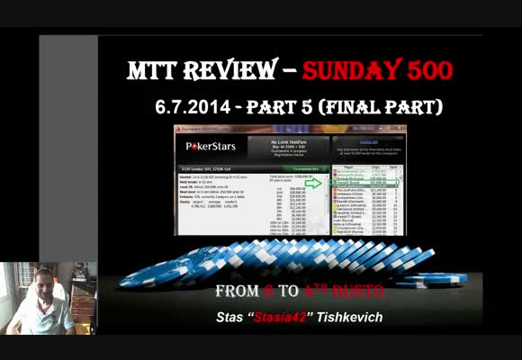 The Sunday 500 Live review - Deep Play at the Final Table