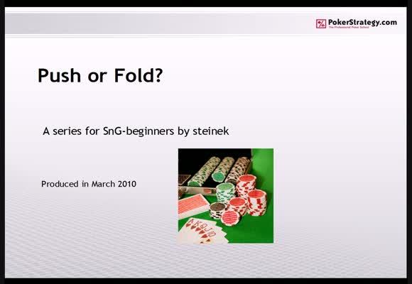 Push or Fold - Part 2