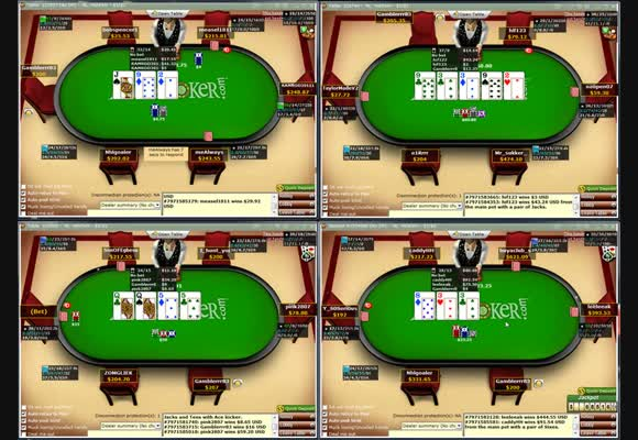 No Limit $200 Shorthanded Live Video - Part III