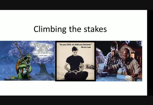 Climbing the Stakes - The Two Sides of Balance