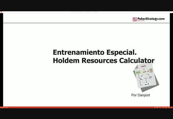 Prestaciones Avanzadas en el Holdem Resources Calculator