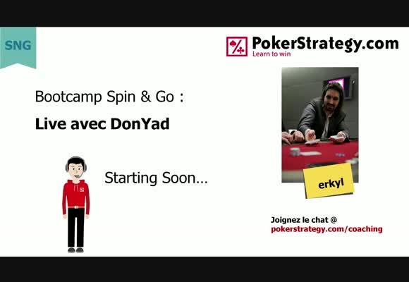 Bootcamp Spin&Go  : Jeu en live