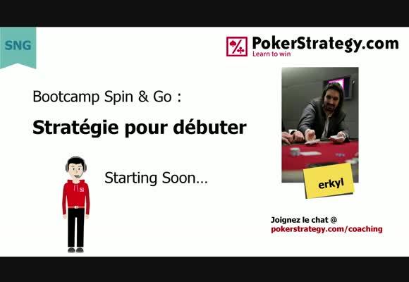 Bootcamp Spin&Go 1 : Stratégie pour débuter