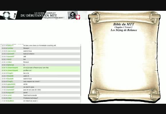 Bible du MTT - Chapitre 1 : Le jeu préflop