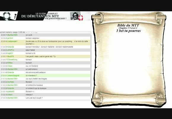 Bible du MTT - Chapitre 2 : Le jeu post flop