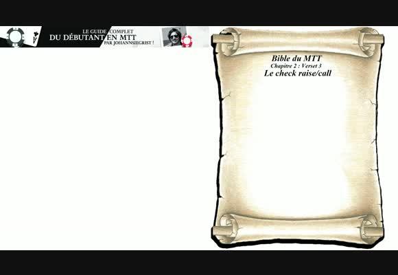 Bible du MTT - Chapitre 3 : suite du jeu post flop