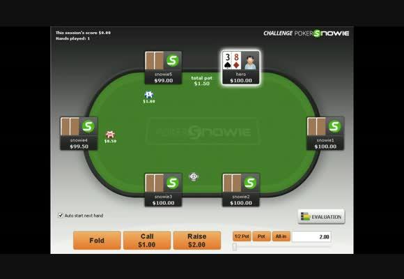 Challenge interactif avec Pokersnowie part 2