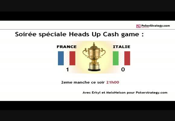 HU Cash Game France vs Italie
