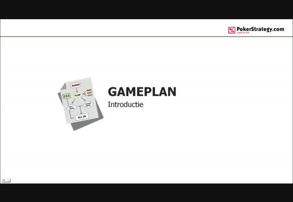 Gameplan: Introductie