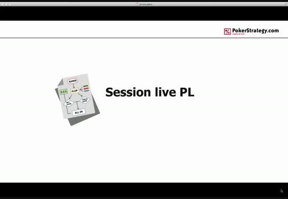Sessione dal vivo al PLO50