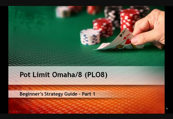 PLO Hi/Lo Strategy Guide - Part 1