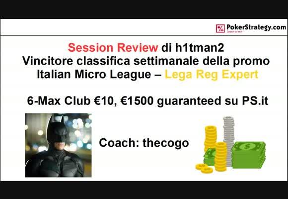 6-max Club & Fondamenti del gioco MTT
