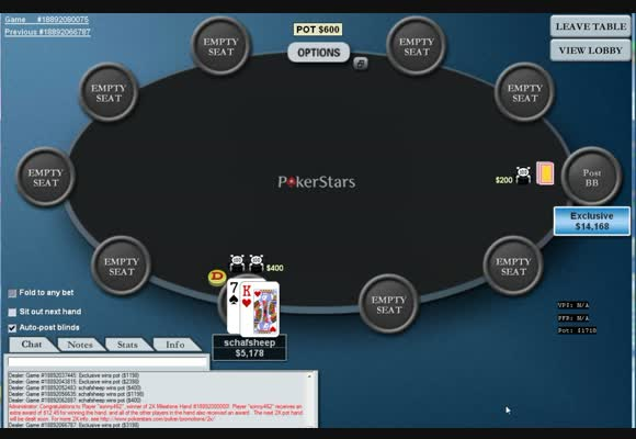 FL $200/$400 Heads-up I