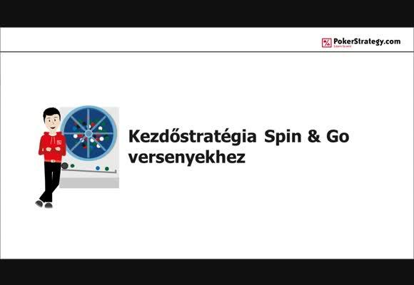 Spin and Go stratégia kezdőknek