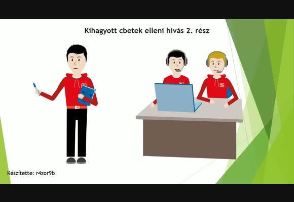 Kihagyott cbetek elleni hívás 2. rész - példa leosztások
