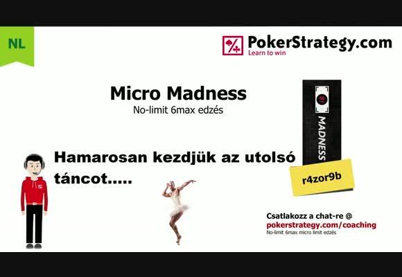 Micro madness - NL10 6max 10.26.