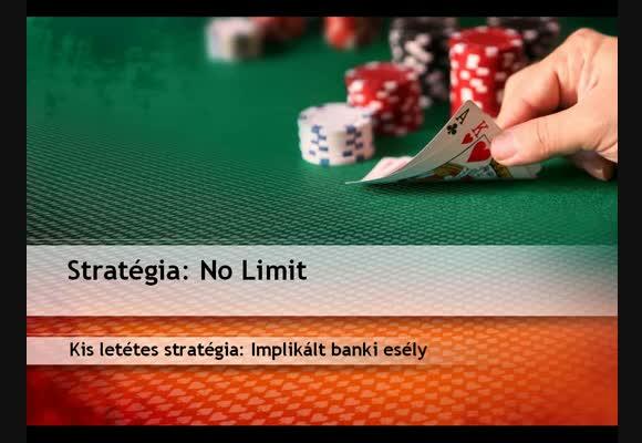 Kis letétes stratégia: Implikált banki esély