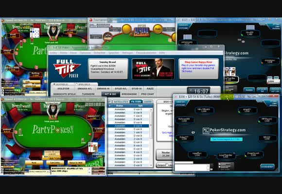 Sit and Go - $210 - $555 Fullring - Live