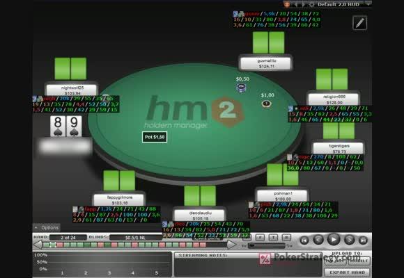 NL100 full ring handreview - 1. rész