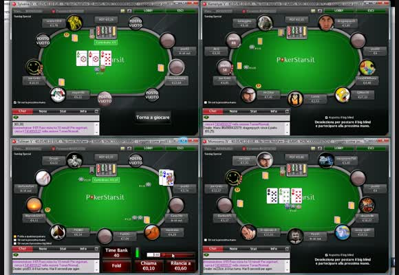 Video live: MSS al NL10 di PokerStars.it - Parte 2