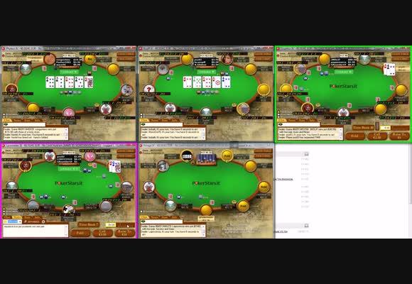 Sessione live - MSS al NL100 di PokerStars.it