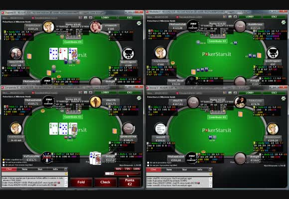 Live session su PokerStars.it