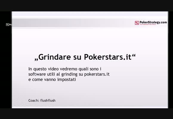 Grindare su PokerStars.it - configurazione software