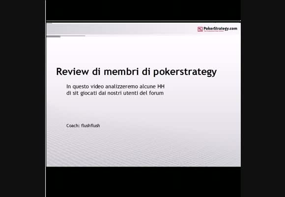 Session review dei nostri utenti - parte 1