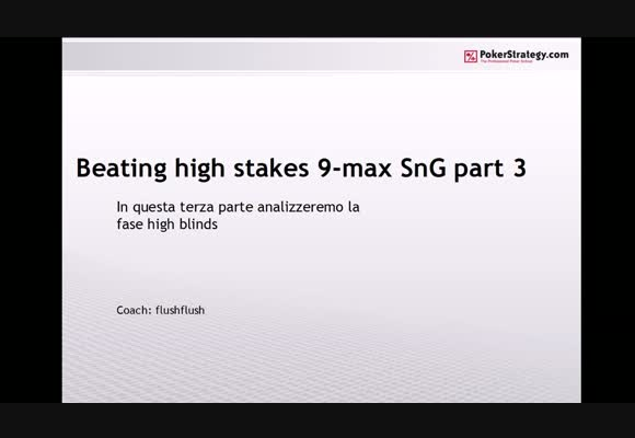 Battere gli High Stakes fullring - parte 3